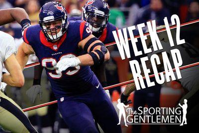 The best and worst of NFL Week 12, from J.J. Watt to Jeff Fisher