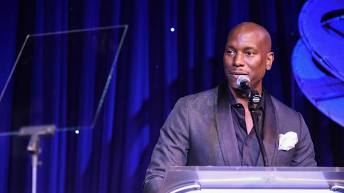 Tyrese Gibson hosts the 2014 LA's Promise Gala on Tuesday, Sept. 30, 2014, in Universal City, Calif. (Photo by Rob Latour/Invision/AP)