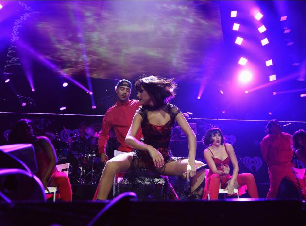 Selena Gomez performs during KIIS FM's Jingle Ball concert at the Staples Center in Los Angeles