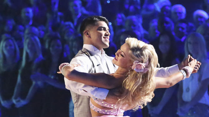 Victor Oritz and Lindsay Arnold (4/15/13)