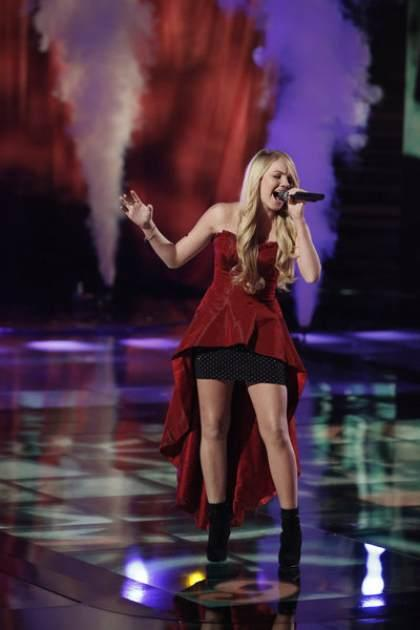 Danielle Bradbery performs on 'The Voice' -- NBC