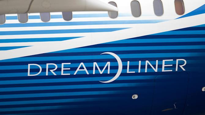 "FILE - In this May 7, 2012 file photo, a Boeing 787 Dreamliner arrives at Ronald Reagan National Airport as part of a worldwide ""Dream Tour"" in Washington. The U.S. Federal Aviation Administration said Friday, Jan. 11, 2013 it is launching a comprehensive review of the critical systems of the 787 after a fire and a fuel leak earlier this week. (AP Photo/Evan Vucci, File)"