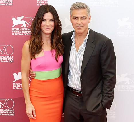 "Sandra Bullock: My Son Louis, 3, Has ""Man Time"" With George Clooney"