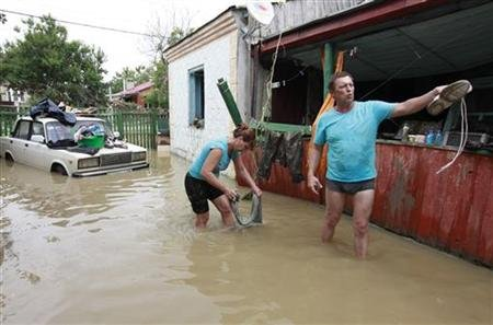 New Floods Strike Southern Russia, Four Killed