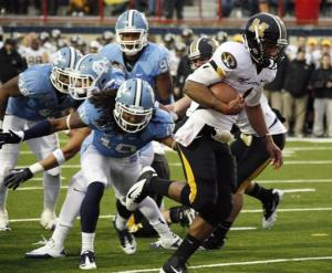 Missouri beats UNC 41-24 in Independence Bowl