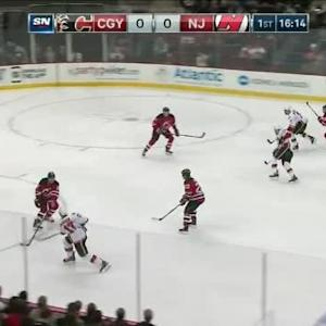 Cory Schneider Save on Lance Bouma (03:48/1st)