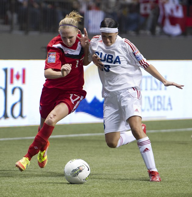 2012 CONCACAF Women's Olympic Qualifying - Canada v Cuba