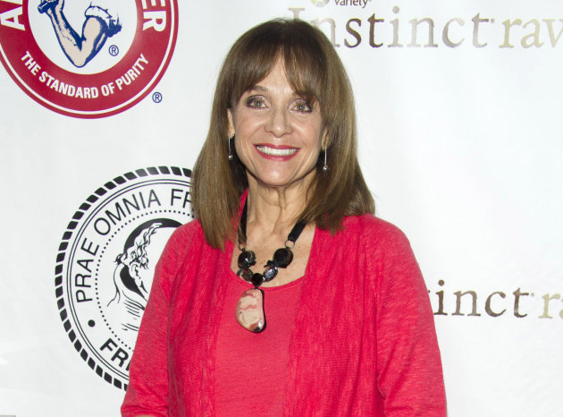 FILE - This May 16, 2012 file photo shows actress Valerie Harper at the Friars Club Roast of Betty White in New York. The daytime talk show &quot;The Doctors&quot; said that Harper will appear on the show Monday to talk about her brain cancer. The 1970s sitcom star has been diagnosed with a rare brain cancer and told she has as little as three months to live. Harper played Rhoda Morgenstern on television&#39;s &quot;The Mary Tyler Moore Show&quot; and its spinoff, &quot;Rhoda.&quot; (AP Photo/Charles Sykes, file)