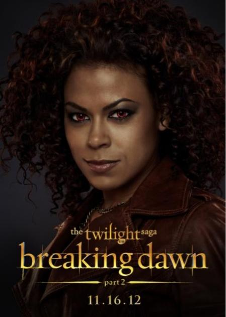 Toni Trucks as Mary, a member of The American Nomadic Vampire coven, 'Twilight Saga: Breaking Dawn - Part 2'  -- Summit Entertainment