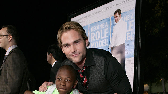 Role Models LA Premiere 2008 Bobb'e J. Thompson Seann William Scott