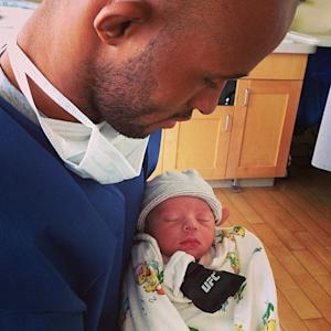 One Week Until Fight Time, Demetrious Johnson Welcomes Mighty Mouse Jr. to the World