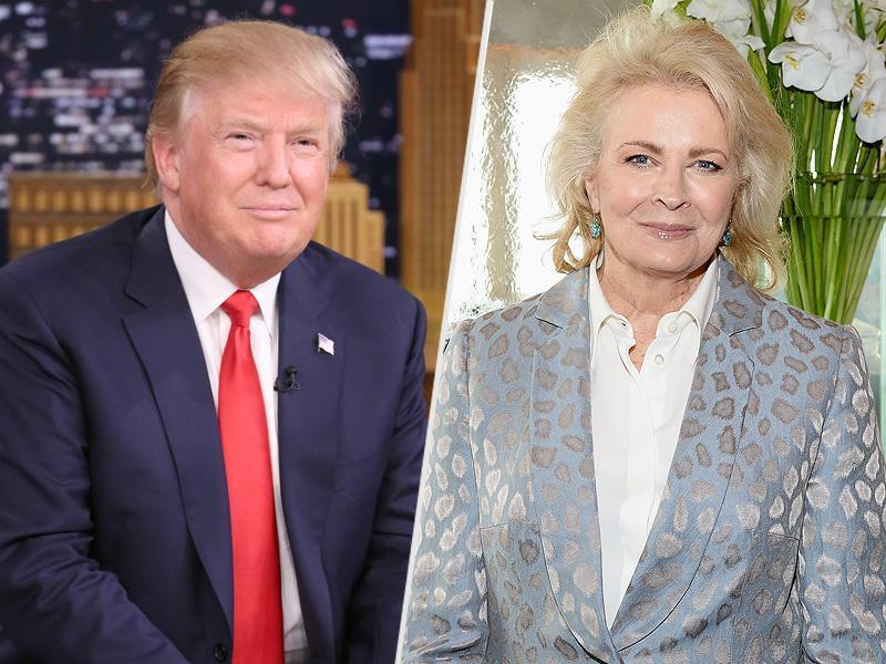 Candice Bergen Says Her Date with Donald Trump Was 'Short' – but She Does Remember His Burgundy Limo