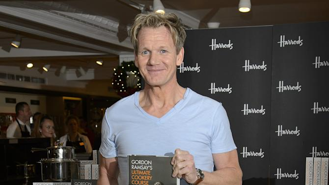 Gordon Ramsay - Harrods Book Signing