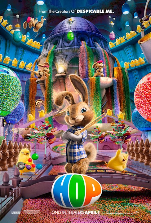 Hop Universal Pictures 2011 Poster