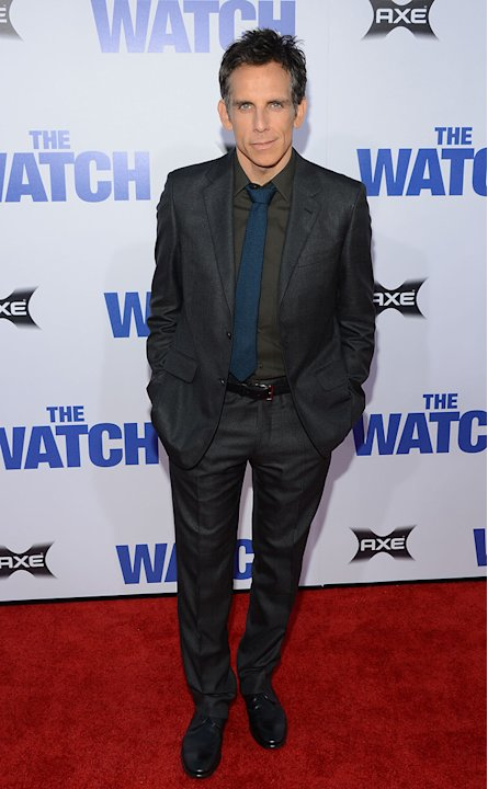 The Watch LA Premiere, Ben Stiller
