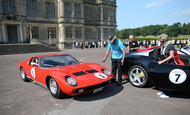 Priceless Car Collection To Drive To Longleat