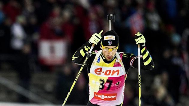 Martin Fourcade of France competes (Reuters)
