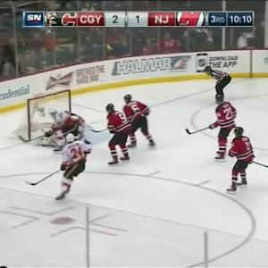 Cory Schneider Save on Josh Jooris (09:53/3rd)