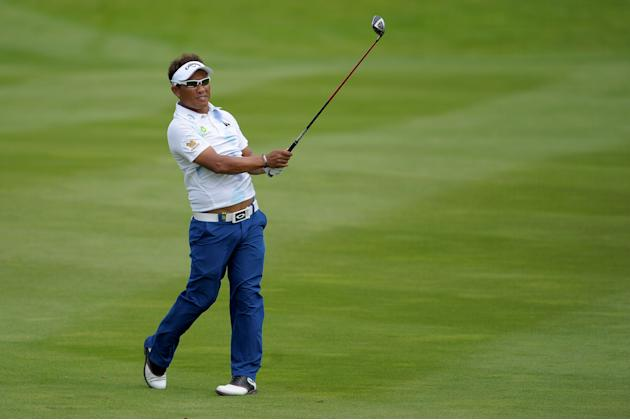 Golf - The ISPS Handa Wales Open 2013 - Day One - The Celtic Manor Resort