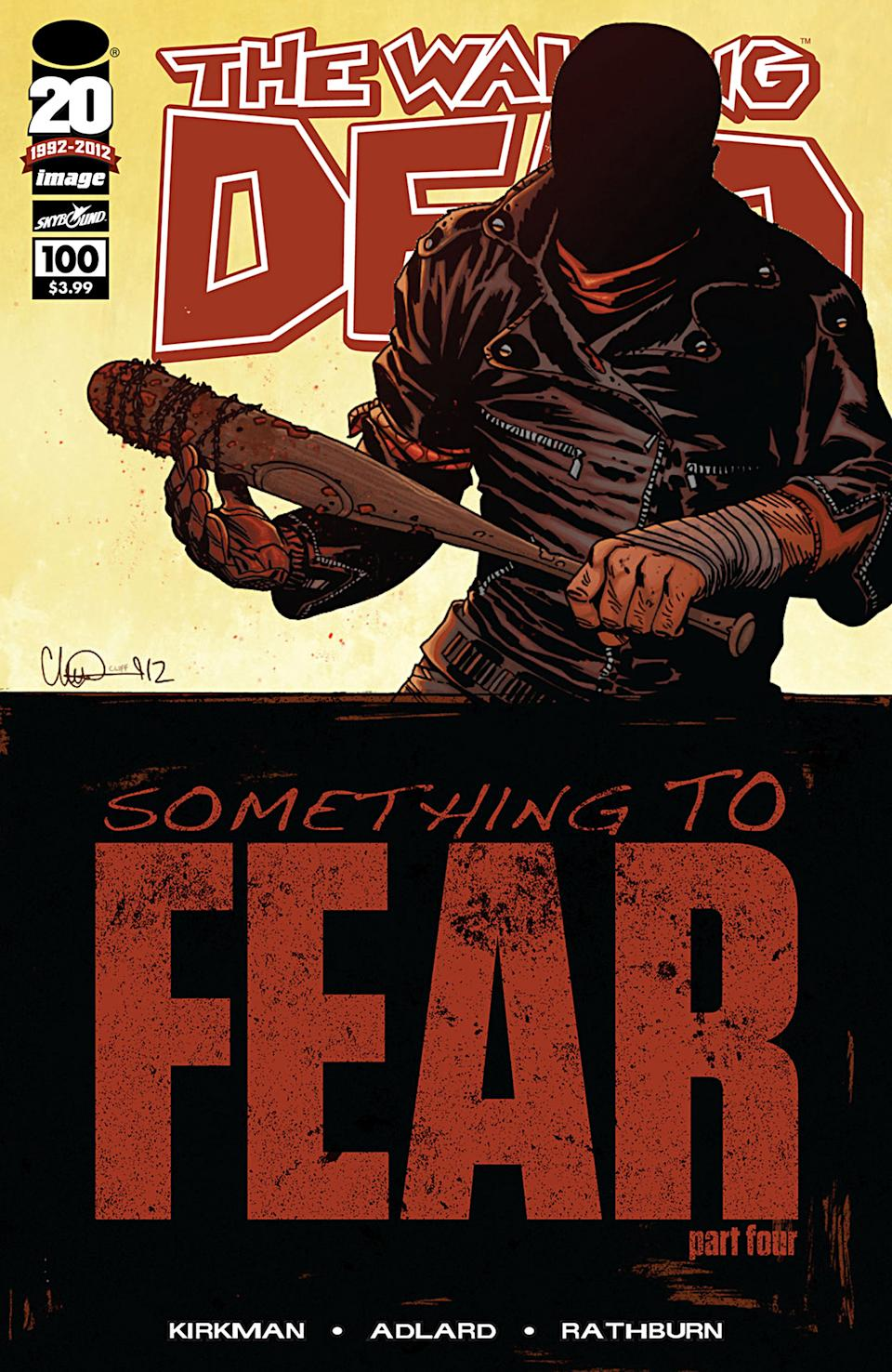 'The Walking Dead' was 2012's top-selling comic