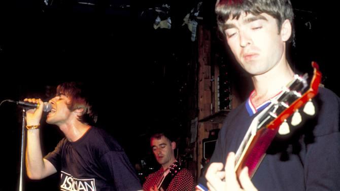 Oasis in Concert at Wetlands, NYC - 1994