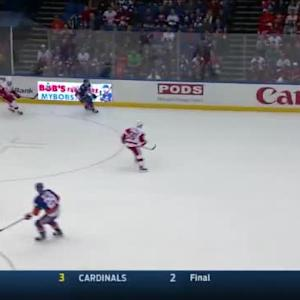 Petr Mrazek Save on Travis Hamonic (14:18/1st)
