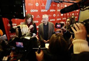 """Executive producer Jane Rosenthal and actor Robert De Niro attend the premiere of the film """"Remembering the Artist"""" at the Sundance Film Festival in Park City"""