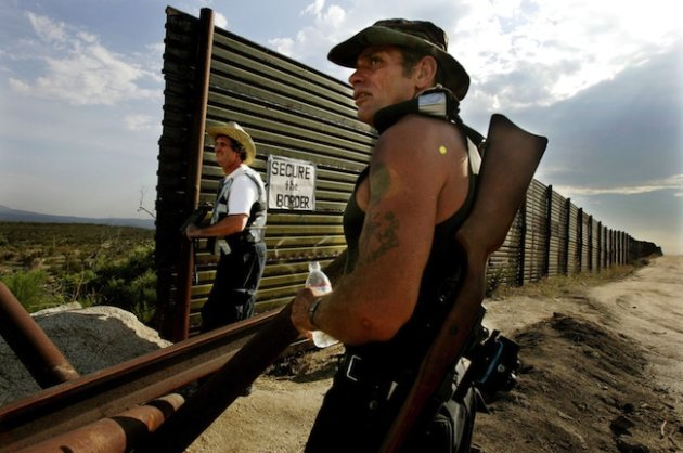 How tea party absorbed Minutemen's immigration message