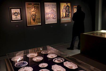 Turkish exhibit shows World War One propaganda was part of the everyday
