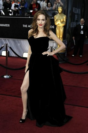 Angelina Jolies Right Leg