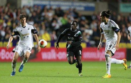 Soccer - UEFA Europa League - Group A - Swansea City v St Gallen - Liberty Stadium