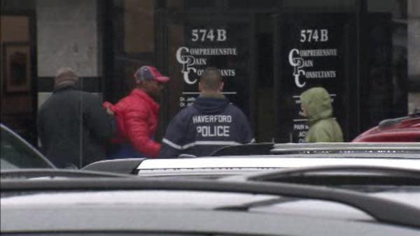 FBI agents raid Main Line business