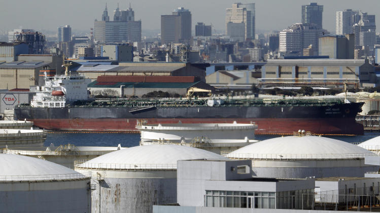 Japan trade deficit swells to $37B in first half