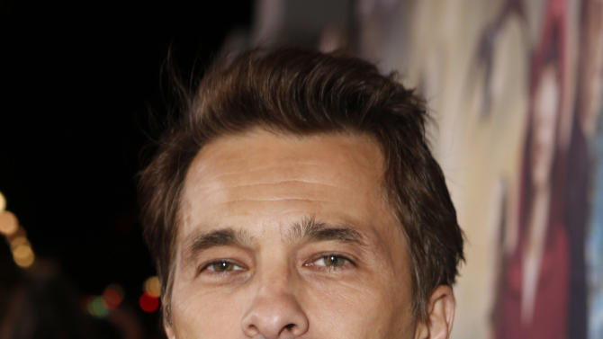 Olivier Martinez arrives at the Los Angeles premiere of 'Cloud Atlas' at Grauman's Chinese Theatre on October 24, 2012 in Hollywood, California.  (Photo by Todd Williamson/Invision/AP Images)