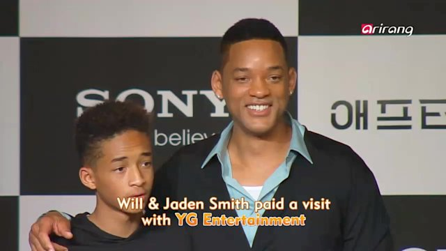 Showbiz Korea : Hollywood Star Will Smith Pays a Visit to Korea