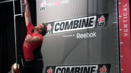 CFL combine (The Canadian Press)