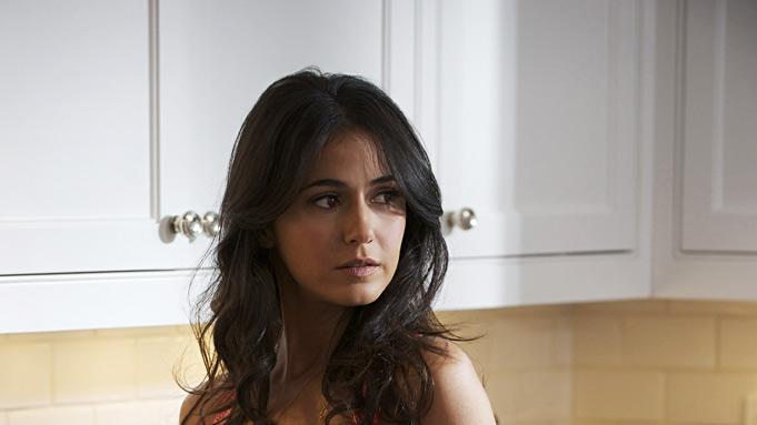 "Emmanuelle Chriqui stars in ""Entourage."""