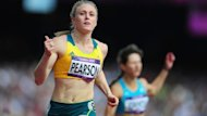 Thanks for coming ... Sally Pearson blew away her opponents in the heat