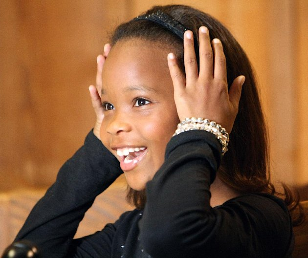 Quvenzhan&#xE9; Wallis during a November 11 interview