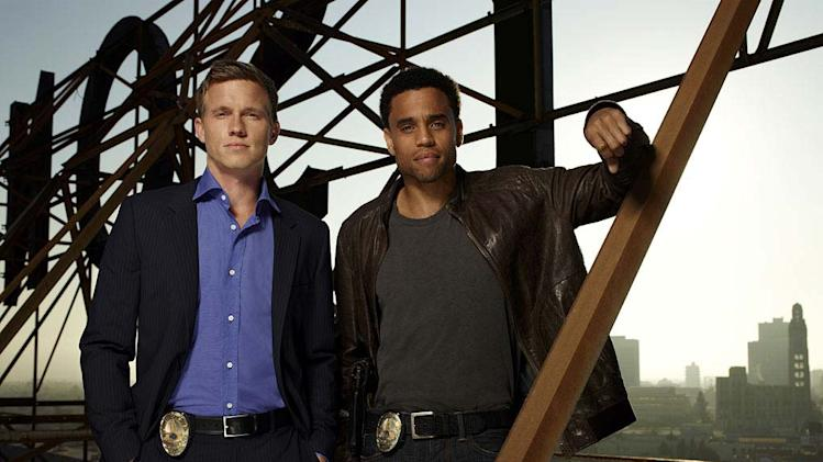 "Warren Kole as Wes and Michael Ealy as Travis in ""Common Law."""