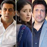 Salman Khan, Govinda Concerned About Manisha Koirala's Health