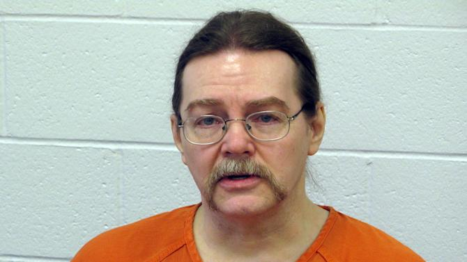 FILE - This Feb. 22, 2012 file photo shows Ronald Smith, the only Canadian on death row in the United States, at the state prison in Deer Lodge, Mont. Smith, awaiting execution for killing two men in 1982, is asking the Montana Parole Board to instead let him live the rest of his life in prison. (AP Photo/The Canadian Press, Bill Graveland, File)