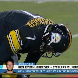 Pittsburgh Steelers quarterback Ben Roethlisberger addresses running back LeGarrette Blount's release