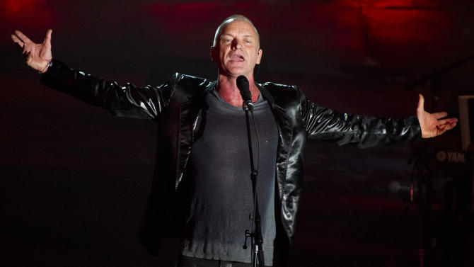 10 Sting concerts in NYC will benefit arts group