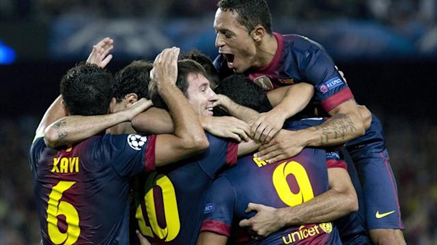 FC Barcelona, 2012
