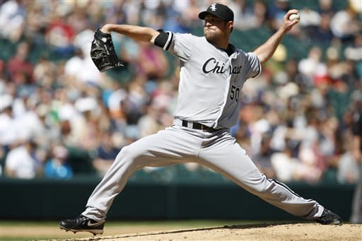 Rios has 3 hits and 3 RBIs, Chisox sweep Mariners