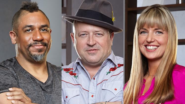 """Food Network Star"" Season 9: Russell Jackson, Rodney Henry, and Damaris Phillips"