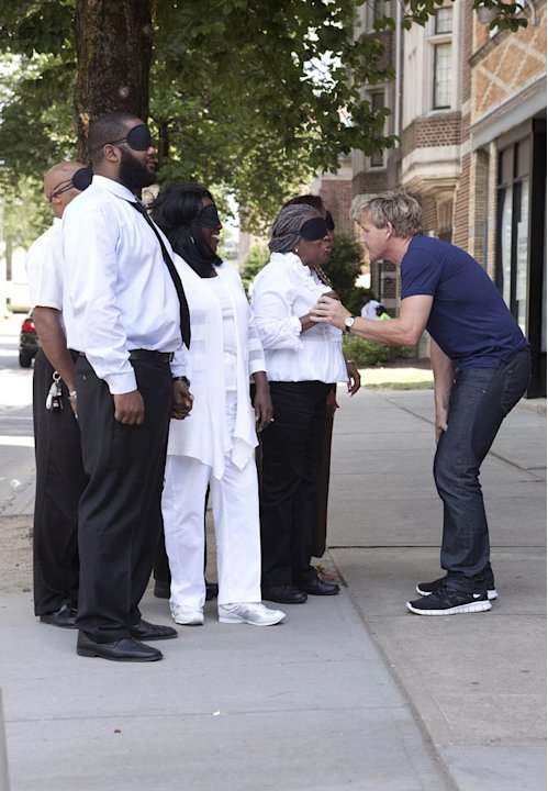 Chef Gordon Ramsay travels to Plainfield, NJ, to help the struggling Blackberry's restaurant in the Season Four premiere of &quot;Kitchen Nightmares.&quot; 