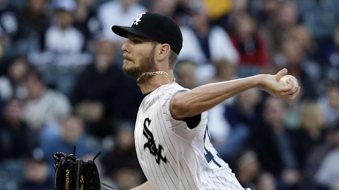 Sale retires 18 of 19, White Sox beat Yankees 3-2