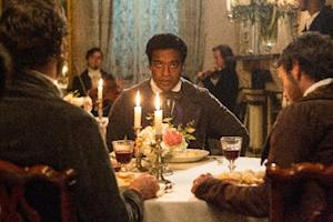 "This film publicity image released by Fox Searchlight shows Chiwetel Ejiofor in a scene from ""12 Years A Slave."" (AP Photo/Fox Searchlight Films, Jaap Buitendijk)"
